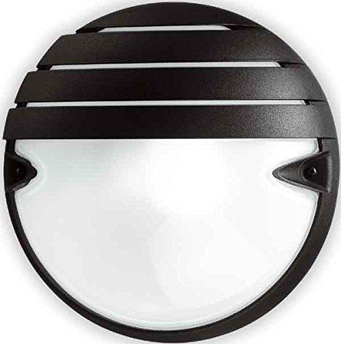 Prisma Chip Tondo 25 Grill - Applique murale Chip Tondo Grill 25 E27 Blanc