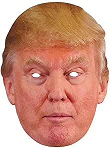 Donald Trump Celebrity Politician Card Face Mask