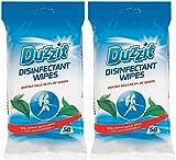 Duzzit - 2 confezioni da 50salviette disinfettanti,...