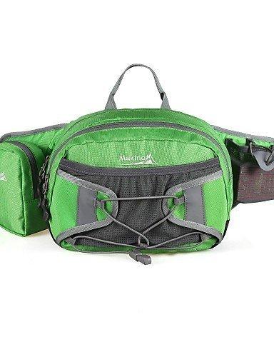 GXS Makino 9L Multifunktions-Outdoor Wasserdicht Taille Tasche grün - grün