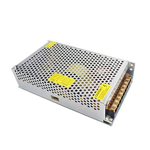 Redrex DC 12V 20A Universal Reguliert Switching Power Supply Adapter Transformator für 3D Drucker LED-Streifen Leuchten CCTV Projekt Sicherheit Computersystem