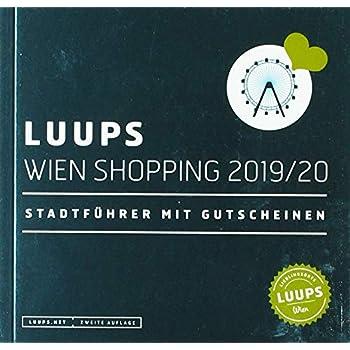 LUUPS Wien Shopping 19/20: Stadtführer mit Gutscheinen