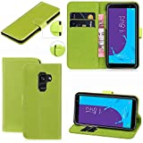 Galaxy A8 2018 Case, Wallet Case with [Card Slots]