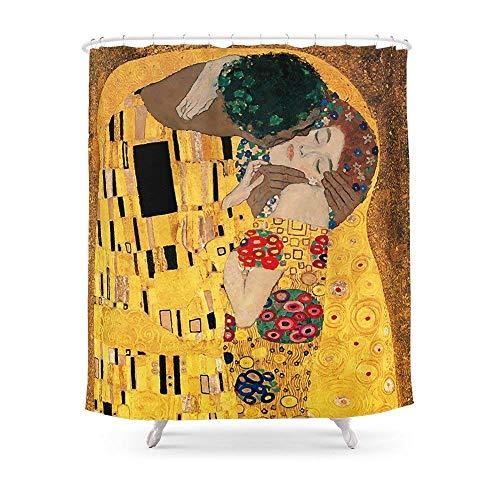 mer der Kuss-Für Den Paare Vorhang für die Dusche 182,9cm von 182,9cm ()