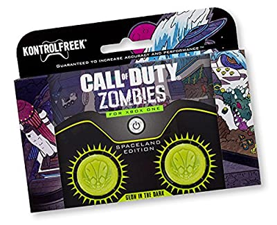 KontrolFreek Call of Duty Spaceland Zombies for Xbox One Controller - Glow in the dark