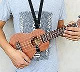 ETGtek(TM) Guitare réglable Ukulele Sangle avec crochet pour 21 \