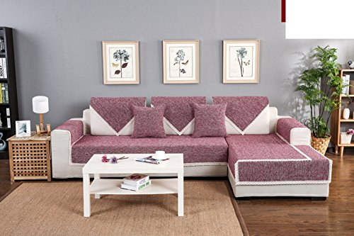 Windschutzplane Möbel Sofa, Sofa Handtuch Slipcovers Sessel die Slipcovers Möbel Couch Protector Sers-Sofa für Wohnzimmer Sofa Set copertina- 110x 160cm (43x 63inch) (Wohnzimmer-sofa-möbel-sets)