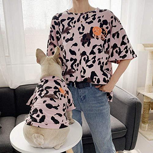 ZHAS Sommer Hund Kleidung Mode Bulldog Kleidung Baumwolle Hunde Kleidung für kleine mittlere Hunde Kleidung Chihuahua Puppy Dog Kostüm (Adult Puppy Kostüm)