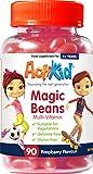 Best Gummy Multi Vitamin For Kids - ActiKid Magic Beans Multi-Vitamin 90x Raspberry Flavour, Gelatin Review