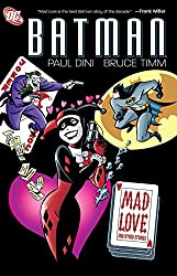 Written by PAUL DINI, BRUCE TIMM and GLENN MURAKAMI Art by BRUCE TIMM, MIKE PAROBECK, MATT WAGNER, DAN DECARLO, KLAUS JANSON and GLENN MURAKAMI Cover by BRUCE TIMM Now in trade paperback, this fantastic collection features the origin of Harley Quinn...
