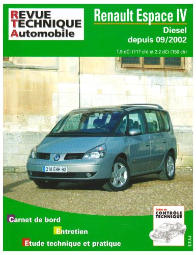 Revue Technique 682.1 Renault Espace IV Dci