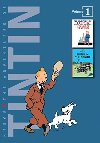 "The Adventures of Tintin: Volume 1 (Compact Editions): ""Tintin in the Land of the Soviets"", ""Tintin in the Congo"" v. 1 (The Adventures of Tintin - Compact Editions)"