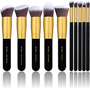 full makeup brush set. bs-mall(tm) premium synthetic kabuki makeup brush set cosmetics foundation blending full s
