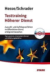 Hesse/Schrader: Testtraining Höherer Dienst