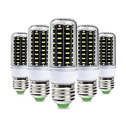 5×GreenSun 4W E27 LED Energy Saving maïs Ampoules SMD 4014 Équivalent Haute Puissance de la lampe Blanc Froid 6000K 30W Incandescent Lumière