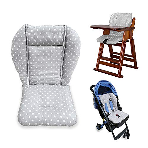 Cojín para silla de bebé, silla alta, silla de bebé, silla alta, asiento de coche, acolchado, almohadilla...