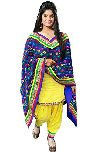 Salwar Suits for women new arrival western party wear semistitched dress materials /punjabi suits for women patiala by Jsv Fashion