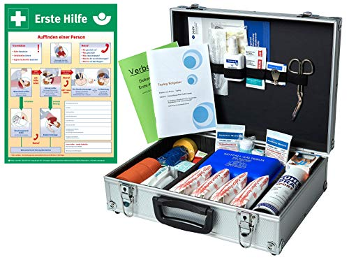 WM-Teamsport Sport-Betreuer-Koffer -Paket 2- zur Behandlung von Sport-Verletzungen INKL. AUSHANG (A3)