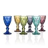 BRANDANI 54211 - Bicchiere da liquore Diamond, multicolore