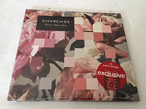 Every Open Eye Digipak CD+3 BONUS Tracks 2015 TARGET EXCLUSIVE by CHVRCHES