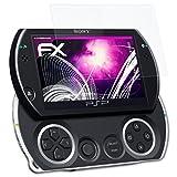 atFoliX Sony PSP Go N1000 Verre film protecteur - FX-Hybrid-Glass 9H Protection Écran Film de verre en plastique - mieux que vrai verre verre pare-balles