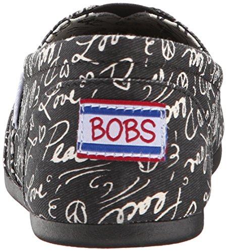 Bobs by Skechers Urban Trails Tessile Mocassini Black Words