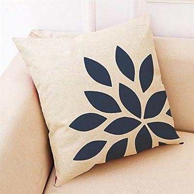 squarex Home Decor Kissenhülle dunkelblau-Überwurf Kissenbezug Kissen Bezüge für Sofa von squarex auf Gartenmöbel von Du und Dein Garten