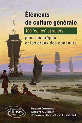 Éléments de culture générale : 100