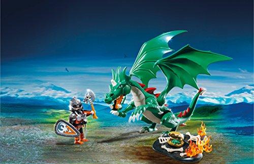 PLAYMOBIL Caballeros - Playset Gran dragón (6003) 3