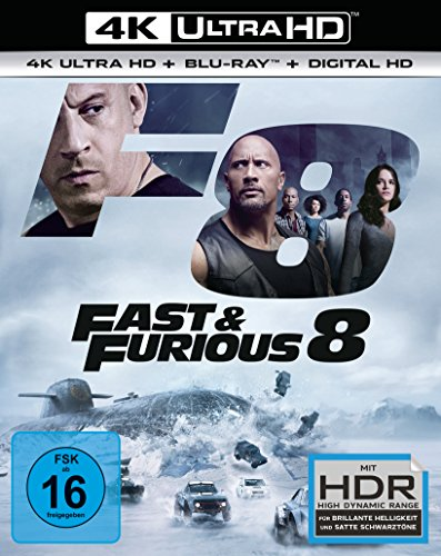 Fast & Furious 8 (4K Ultra HD) (+ Blu-ray)