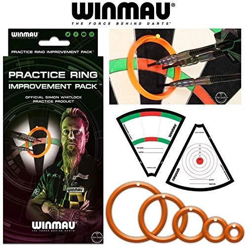 WINMAU Übungsringe - Simon Whitlock Übungsprodukt - Verbesserungspaket