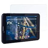 atFolix Schutzfolie kompatibel mit Jay-tech Tablet-PC XTE7D Panzerfolie, ultraklare und stoßdämpfende FX Folie (2X)