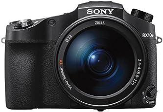 Sony DSC-RX10M4 Premium Bridge Kamera (20.1 Megapixel, 25-Fach optischer Zoom, 4K) 24-600mm F2.4-4 Zeiss Objektiv, 24 Bilder/Sek, 0,03s Autofokus-Speed, Schwarz