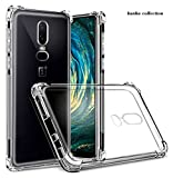 #10: JGDWORLD One Plus 6 (2018) Back Bumper Transparent Cover/one Plus 6 Crystal Clear Back Cover
