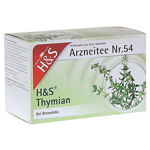 H&S Thymian Tee Filterbeutel 20 St Filterbeutel