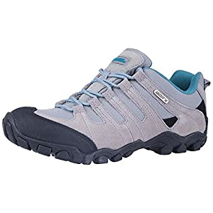 51Y%2BR7jZRgL. SS300  - Mountain Warehouse Belfour Womens Walking Shoes - Lightweight Hiking Shoes, Breathable, Lace Up Trainers - for Trekking, Gym & Running