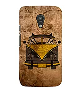 Oldest Van Zeep 3D Hard Polycarbonate Designer Back Case Cover for Motorola Moto G2 X1068 :: Motorola Moto G (2nd Gen)