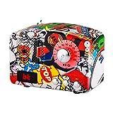 Hölzerne Bluetooth-Funk Lautsprecher Chinesischer Jahrgang Handmade 3D-Surround Hochwertige Mehrere Geräte Unterstützen Sprachmenü Prompt,Graffiti