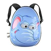 Kids Animal Hard Shell Backpack / Rucksack - Travel Hand Luggage (Small Elephant)