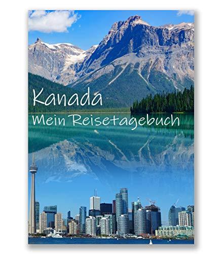 Reisetagebuch Kanada zum Selberschreiben | interaktiv mit spannenden Aufgaben, Reisechallenge und viel Abwechslung | dein persönlicher Reiseführer mit deinen Highlights - Geschenkidee | Enjoytheworld