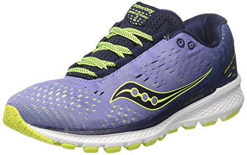 Saucony Breakthru 3, Scarpe Running Donna Viola (Purple/navy)