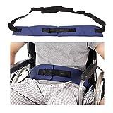 Cinturón de seguridad para silla de ruedas, correas de sujeción médicas, para el cuidado de los pacientes, arnés de seguridad, correa para la cintura para ancianos, color azul