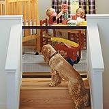 Delaman Cancelli di Sicurezza per Cani Cani - Recinzione Sicura Portatile, Installazione Semplice, Recinto Sicurezza Bambini, Recinto Rete Sicurezza Animali Domestici, Nero (Size : 110 * 72cm)
