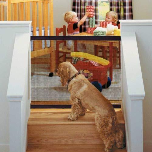 Delaman Puertas de Seguridad Interiores para Perros Caja de Seguridad Portátil y...