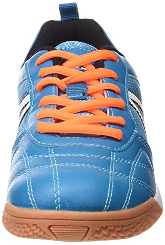 Brütting Super Indoor, Chaussures de Fitness Mixte Adulte Bleu (Blau/schwarz/orange)