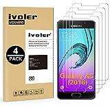 iVoler [Pack de 4] Verre Trempé Compatible avec Samsung Galaxy A5 2016, Film...