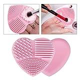 KEDSUM Plaque de Nettoyage en silicone pour Pinceaux de Maquillage