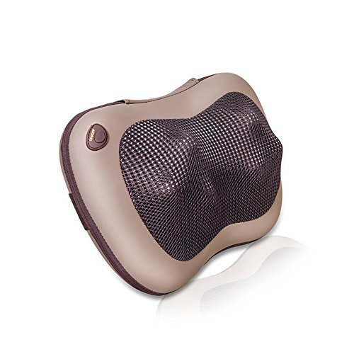 PowerLead Hitze-Therapie Massieren Kissen, Entlastung Rücken Hals und Schulter Schmerzen für zu Hause, Büro oder Auto verwenden Vorwärts