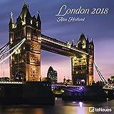 London 2018 - Städtekalender, Broschürenkalender, Architekturkalender - 30 x 30 cm