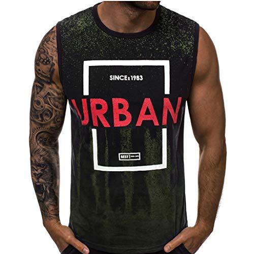 8e2756c0de4 Hombres Beast Culturismo Camisetas de Tirantes Deportivo sin Mangas Fitness  Gimnasio Chaleco Chaqueta de Chaleco sin
